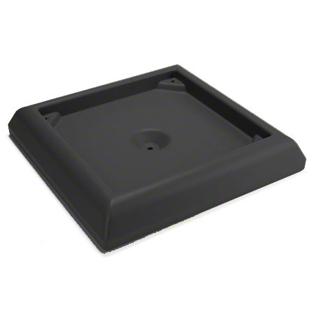 9177 WEIGHTED BASE FOR 45- & 65-GAL RANGER CONTAINER, BLACK