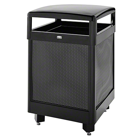 DIMENSION R38HT HINGED TOP CONTAINER 38GAL BLACK