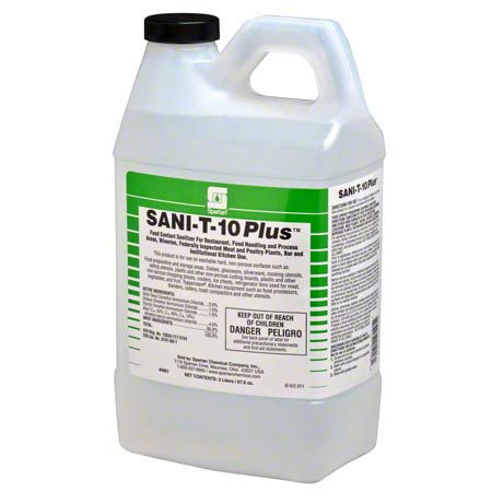 480102 SANI-T-10 PLUS 22 4/2LTR CLEAN ON THE GO
