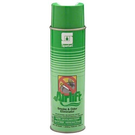 6086 AIRLIFT SMOKE & ODOR 12pk NET-16oz AEROSOL