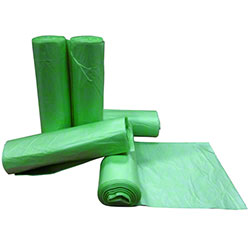 Colonial Bag Degrade-Away™ Green Tint Degradable Liners