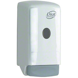 Dial® Model 22 Manual 800 mL Liquid Soap Dispenser - White