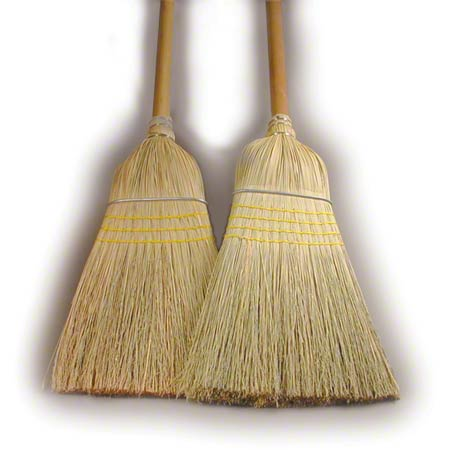 Heavy Duty Industrial Broom - Blend, 4 Sew