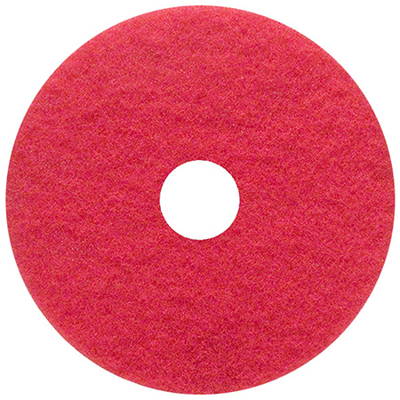 Type 51 Red Buffing Floor Pad - 20""