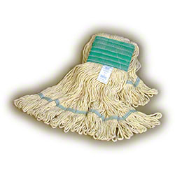 Scrubble® Rayon Blend Looped-End Finish Mop - Large