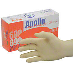 AmerCare® Apollo™ Latex Powder-Free Gloves - Small