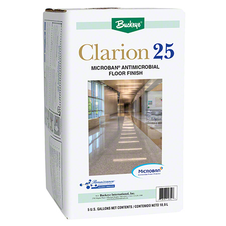 Buckeye® Clarion® 25 Floor Finish - 5 Gal. Action Pac