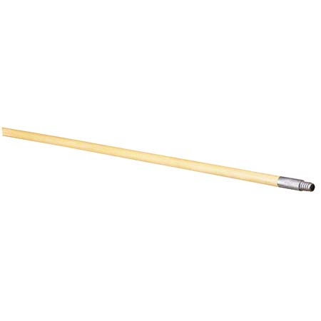 "Carlisle Flo-Pac® Lumathread Wood Handle - 60"", 1 1/8"" D"