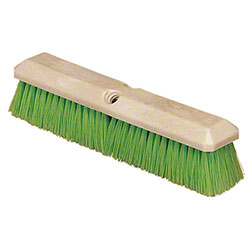 "Carlisle Flo-Pac® Vehicle Wash Brush -14"", Green"