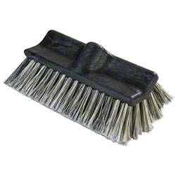 Carlisle Flo-Pac® Flo-Thru Vehicle Wash Brush - 10""