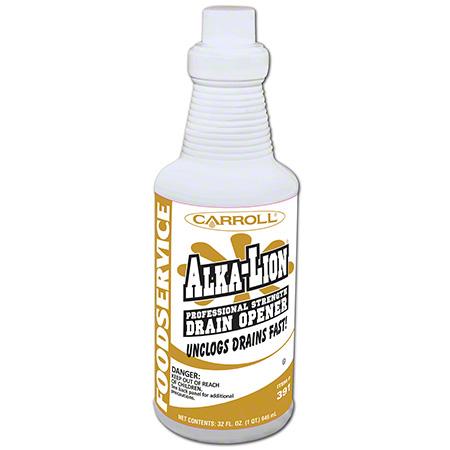 Carroll® Alka-Lion Alkaline Drain Opener/Maintainer - Qt.