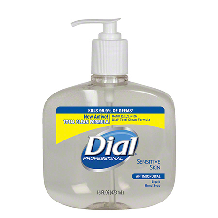Dial® Sensitive Skin Antimicrobial Liquid Hand Soap-16 oz.