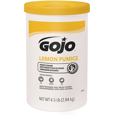 GOJO® Lemon Pumice Hand Cleaner - 4.5 lb. Cartridge