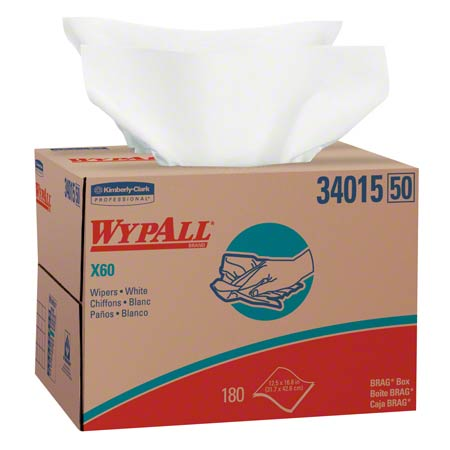 Kimberly-Clark® WYPALL® X60 Wiper - White