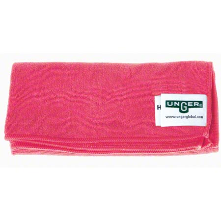 Unger® MicroWipe™ 4000 Microfiber Cloth - Red