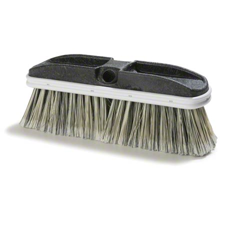 "BRUSH 10"" FLO THRU FINE  GRAY PP FLAGGED BRISTLE"