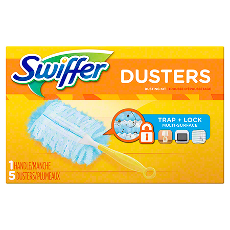 SWIFFER DUSTER HAND 180 KIT UNSCENTED 6/5 CT