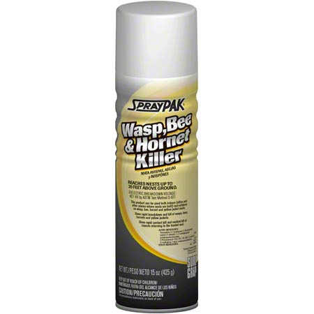 SprayPak® Wasp, Bee & Hornet Killer - 15 oz  | Catko Distributors, Inc
