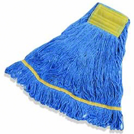 LaFitte Synthetic Blend Launderable Blue Mop - Medium
