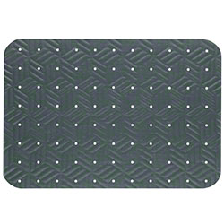 M + A Matting Wet Step Mat - 2' x 3', Grey