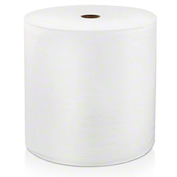 "LoCor® Hard Wound White Roll Towel - 8"" x 1000'"