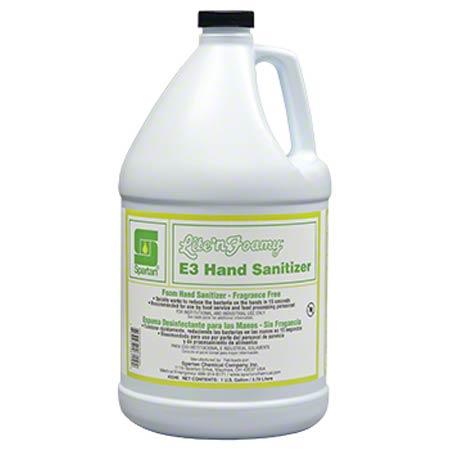 Spartan Lite'n Foamy® E3 Hand Sanitizer - Gal.