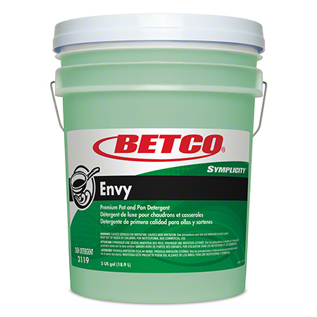 Betco® Simplicity™ Envy Premium Pot and Pan Detergent