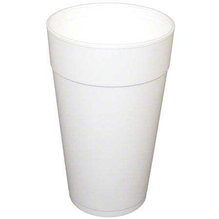 Convermex® White Foam Cup - 44 oz.