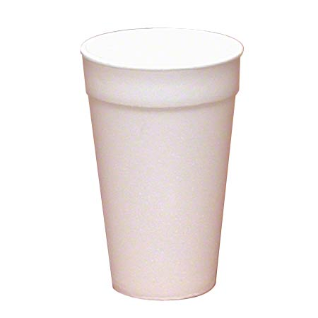 WinCup® White Foam Cup - 16 oz.