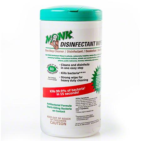 Monk™ Disinfectant Wipe - 80 ct.