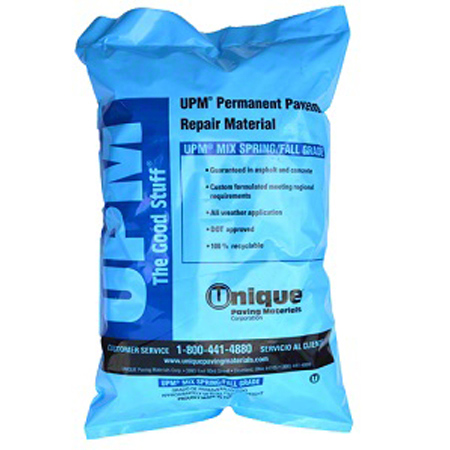 Clean & Safe Permanent Asphalt Patch - 50 lbs., Spring/Fall