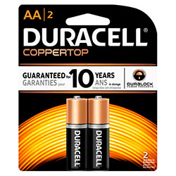 Duracell® Coppertop AA Battery