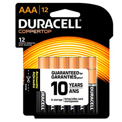 Duracell® CopperTop Battery - AAA Size