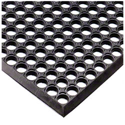 M + A Matting Diamond Tread Anti-Fatigue - Black