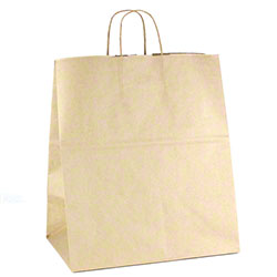"Shamrock Natural Kraft Bag - 14"" x 10"" x 15"""
