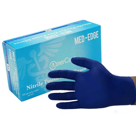 AmerCare® Med-Edge™ Powder-Free Nitrile Exam - Small
