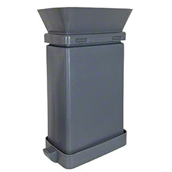 SmartcanMax™ Receptacle w/Funnel - 23 Gal., Gray