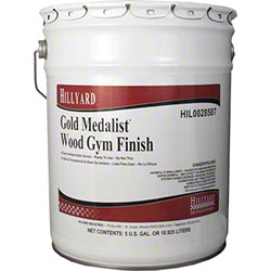 Hillyard Gold Medalist® Wood Gym Finish - 5 Gal.