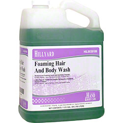 Hillyard Foaming Hair & Body Wash - Gal.