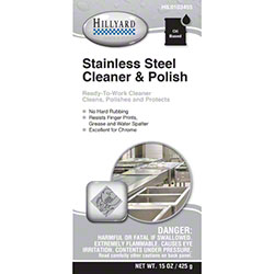 Hillyard Stainless Steel Cleaner & Polish - 15 oz. Net Wt.
