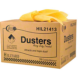 "Hillyard Standard Duty Duster - 21"" x 24"", Yellow"