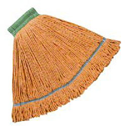 Hillyard High Performance Looped-End Wet Mop -Medium, Orange