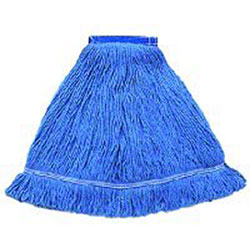 Hillyard High Performance Looped-End Wet Mop - Medium, Blue