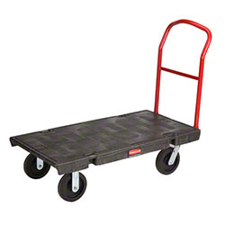 "Rubbermaid® Heavy Duty Platform Truck - 48""x24"", 8"" Thermo"