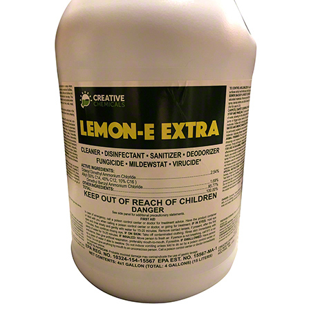 Lemon-E Extra Concentrate Disinfectant Cleaner - Gal.