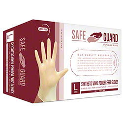 SafeGuard Synthetic Vinyl Powder Free Glove - Small