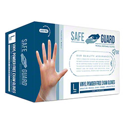SafeGuard Vinyl Exam Powder-Free Glove - Small