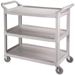 Impact® 3-Shelf Bussing Cart