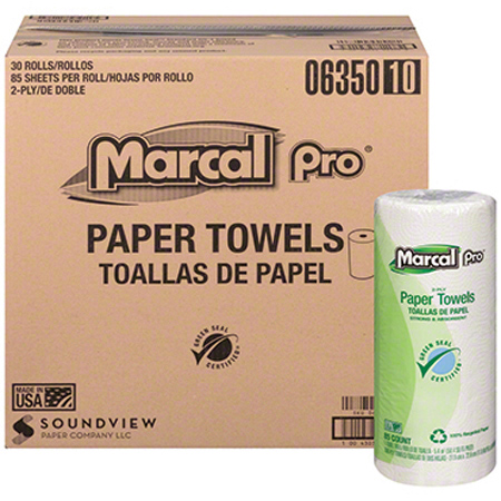 Marcal® Pro™ 2 Ply Paper Roll Towel - 85 ct.