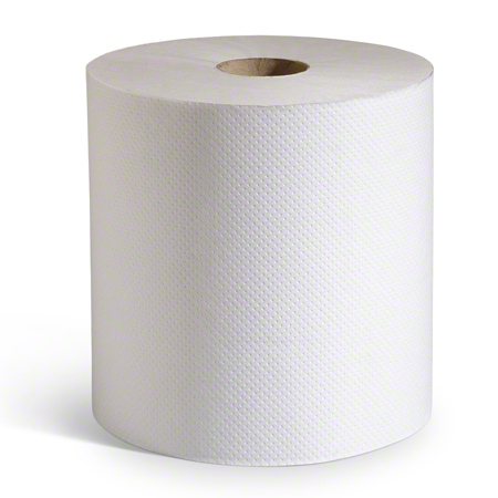 "Putney Hardwound Roll Towel - 8"" x 350', White"